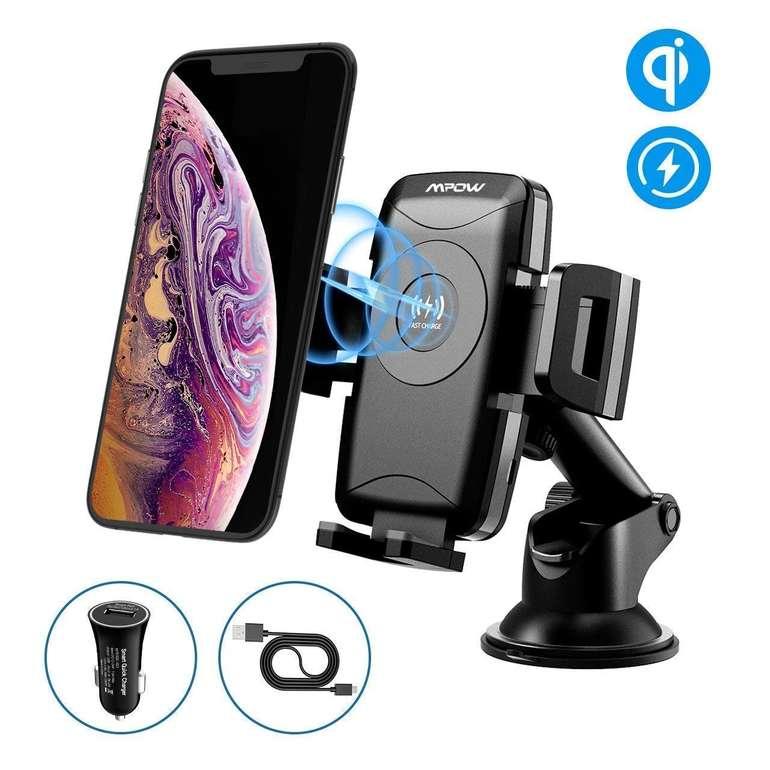 Mpow 2-in-1 Handyhalterung mit KFZ-Ladegerät für 18,99€ inkl. Prime VSK