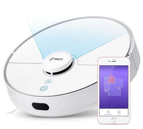 Saugstarker 360 S5 Saugroboter mit App-Steuerung für 237,90€ inkl. Versand