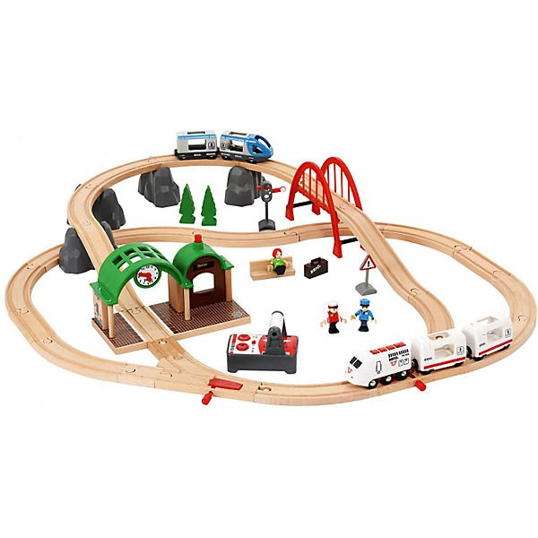 Brio Holzeisenbahn RC Travel Set (33277) für 57,94€ inkl. VSK (statt 73€)