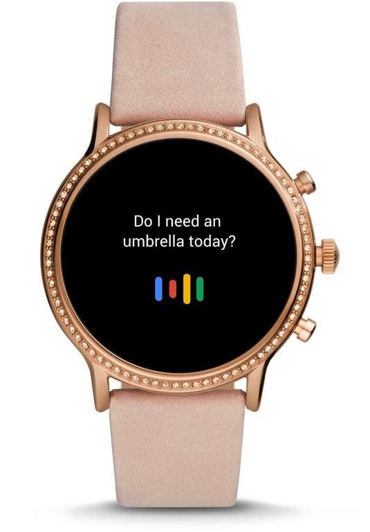Fossil FTW6062 Gen. 5 Smartwatch Julianna HR Milanaise Roségold für 209,30€ (statt 294€)