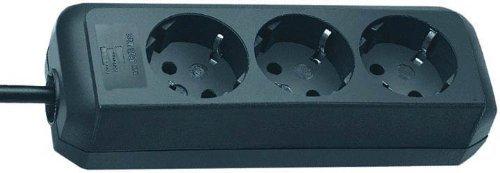 Günstige Steckdosenleisten - z.B. Brennenstuhl Eco 3-fach für 2,44€ inkl. VSK