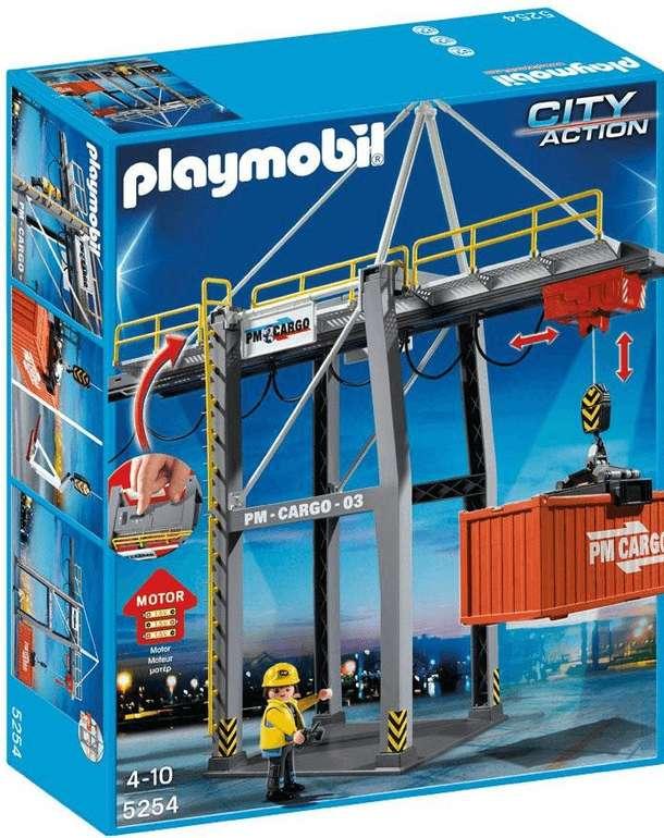 Playmobil City Action - elektrisches Verladeterminal (5254) für 28,98€ inkl. Versand (statt 48€)