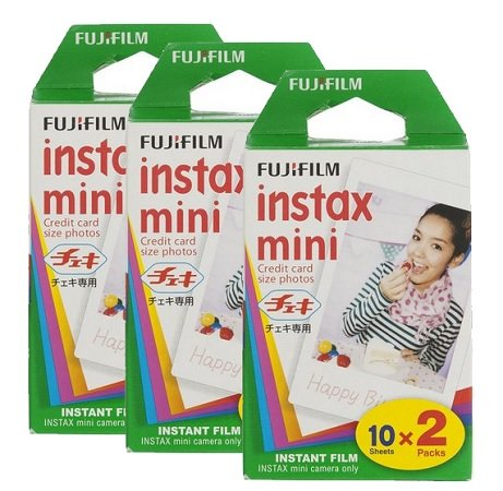 60 Colorfilm Instax Mini Glossy Fotos für 34€ inkl. VSK (statt 43€)