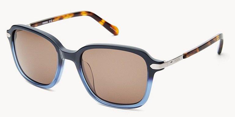 Fossil Glenwood Rectangle Sonnenbrille für 27€ (statt 72€)