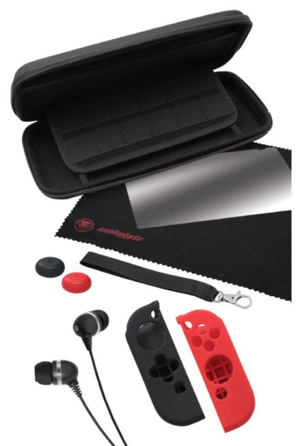 Snakebyte Nintendo Switch Starter Kit Pro 9 tlg. Zubehörset für 12€ (statt 17€)