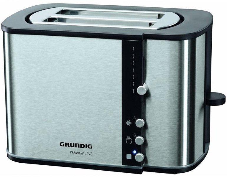 Grundig TA 5260 Premium-Toaster mit 870 Watt nur 22,99€ inkl. Versand