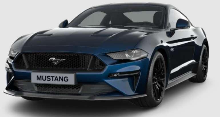 Privatleasing: Ford Mustang 5.0 Ti-VCT V8 GT Auto mit 449 PS für 349€ mtl. (LF: 0.74, Überführung: 1.190€)