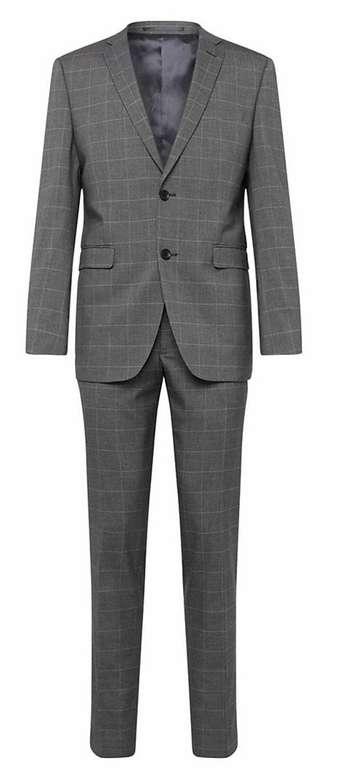 Esprit Collection Anzug 'F window check' für 89,50€ (statt 179€)