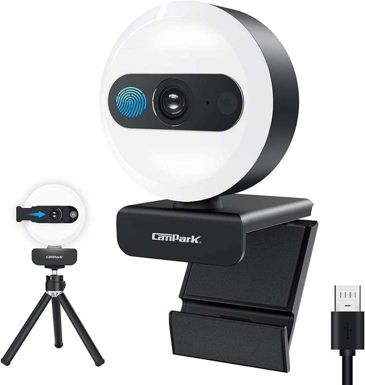 Campark 2K Ringlicht Webcam für 23,17€ inkl. Versand (statt 35€)