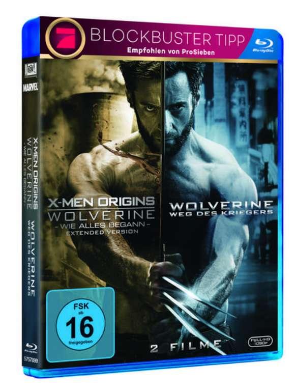 X-Men Origins: Wolverine & Wolverine: Weg des Kriegers Blu-ray für 2,79€ inkl. Versand (statt 10€) - Thalia Club