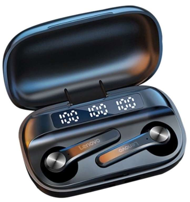 Lenovo QT81 Bluetooth 5.1 TWS In Ear Kopfhörer (Touch Control, 1200mAh, Charging Box) für 13,17€ (statt 17€)