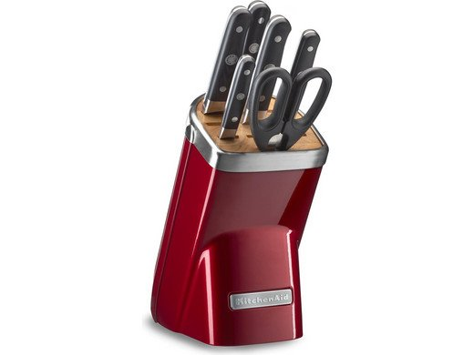 KitchenAid 7-teiliger Messerblock (KKFMA07CA) für 155,90€ inkl. VSK (statt 371€)