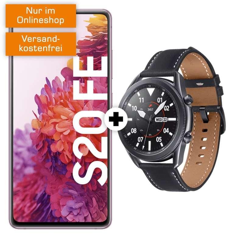 Samsung Galaxy S20 FE + Galaxy Watch3 45mm (+79€) inkl. MD Telekom Allnet-Flat mit 18GB LTE für 34,99€ mtl.