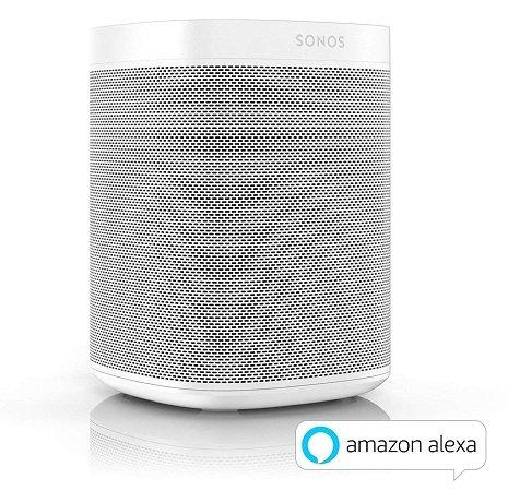 Sonos One - Smart Speaker (mit Alexa Sprachsteuerung, WLAN, AirPlay) für 174,95€ (statt 214€)