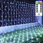 Ollny 3 x 2 Meter Lichternetz mit 200 LEDs + Fernbedienung für 10,40€ inkl. Prime VSK