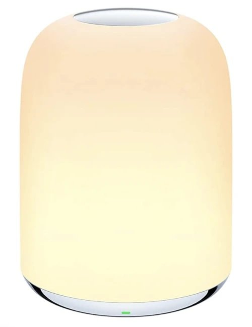 Aukey LT-T8 Nachttischlampe mit Akku (Dimmbar, RGB) für 11,89€ inkl. Versand (statt 30€)
