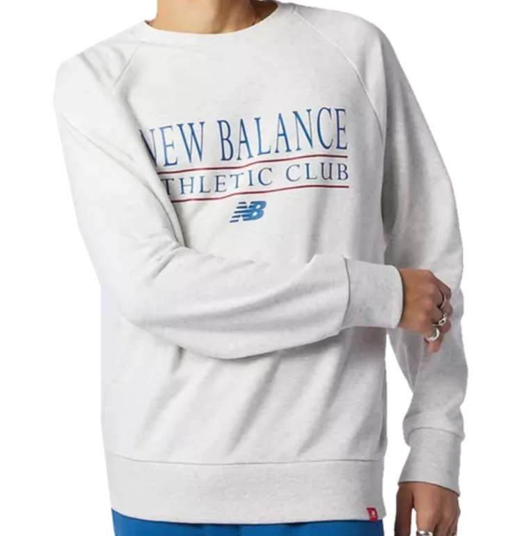 New Balance Freizeitpullover Essentials Athletic Club Crew für 33,95€ inkl. Versand (statt 44€)