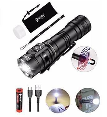 Wuben E05 LED Taschenlampe mit 900 Lumen & Magnetfuß für 25,79€ (statt 43€)