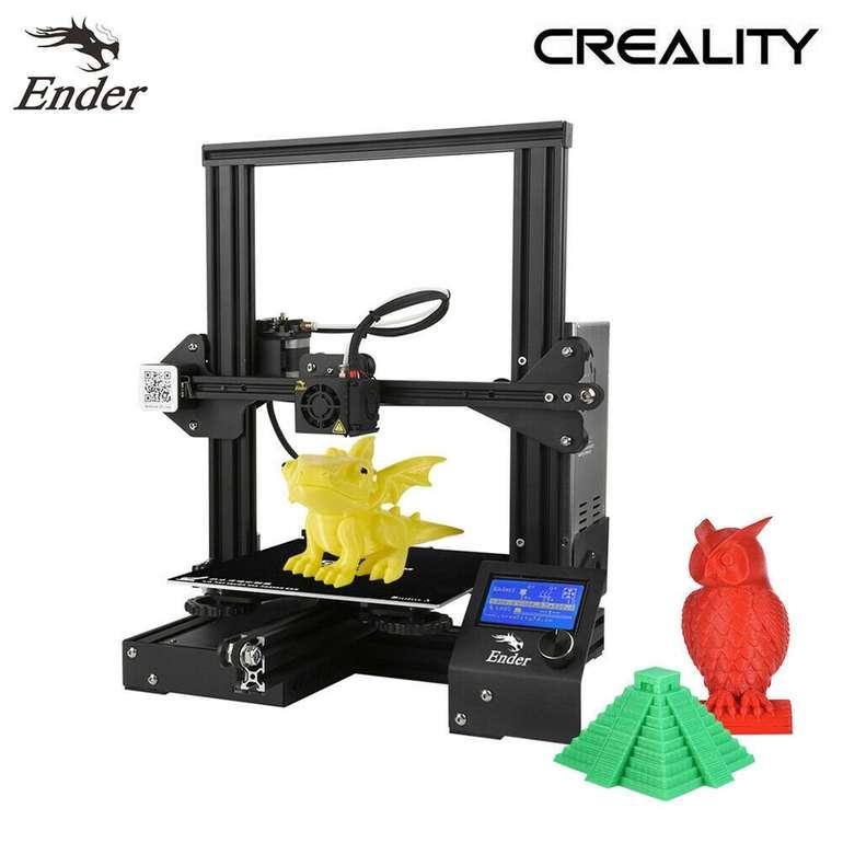 Creality Ender-3 Hochpräziser DIY 3D Drucker (220x220x250mm) für 159,99€ inkl. Versand