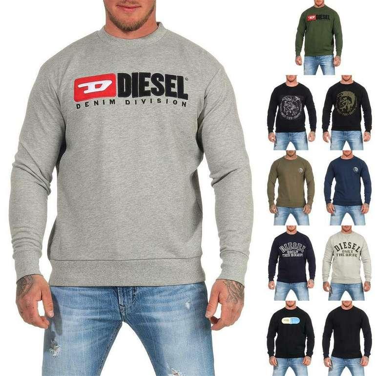 Diesel Herren Sweatshirt S-Crew Division in verschiedenen Farben für 39,99€inkl. Versand (statt 52€)