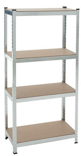 Estexo Steck-Schwerlastregal (180x90x40cm / bis 350kg) mit 5 Böden für 21,95€ inkl. Versand (statt 28€)