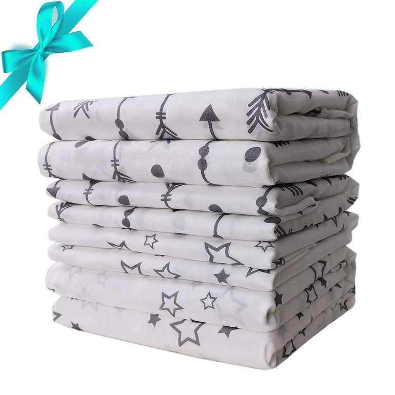 4er Pack Lammcou Baby Wickeldecken für 19,40€ und USB Lüfter für 4,99€ inkl. Primeversand