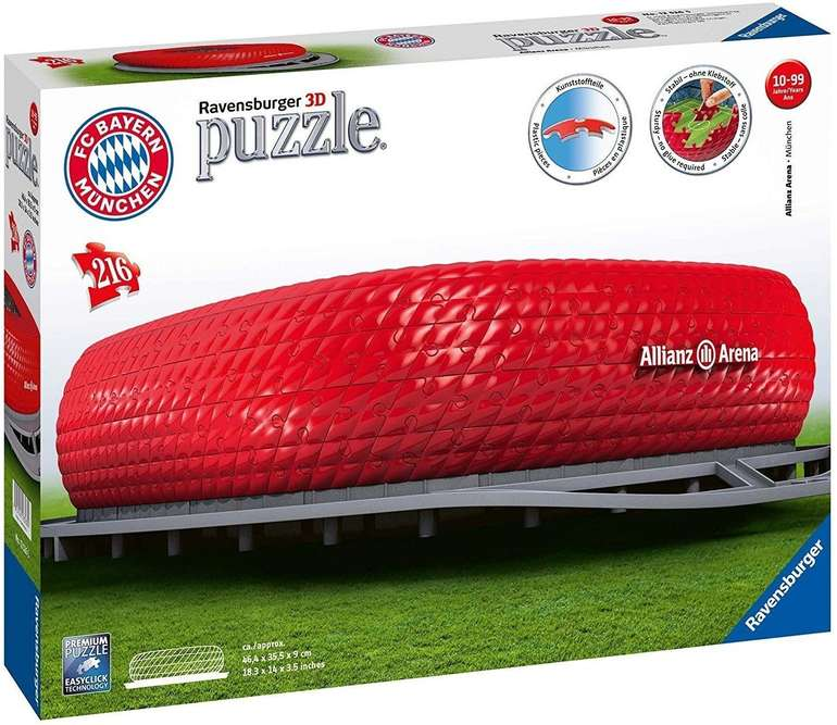 Ravensburger Allianz Arena 3D-Puzzle für 22€ (statt 30€)