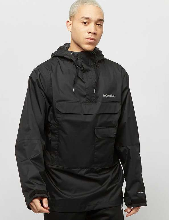 Columbia Sportswear Buckhollow Anorak in Schwarz für 64€inkl. Versand (statt 78€)