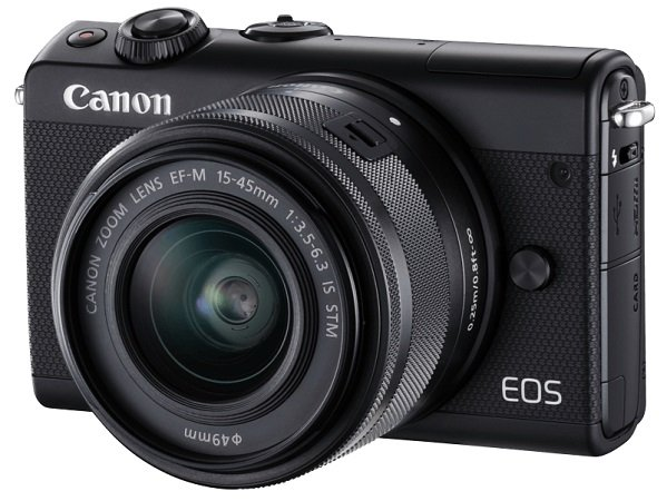 Canon EOS M100 Systemkamera (24,2 MP, 15-45mm) + Cullmann Stativ für 249€