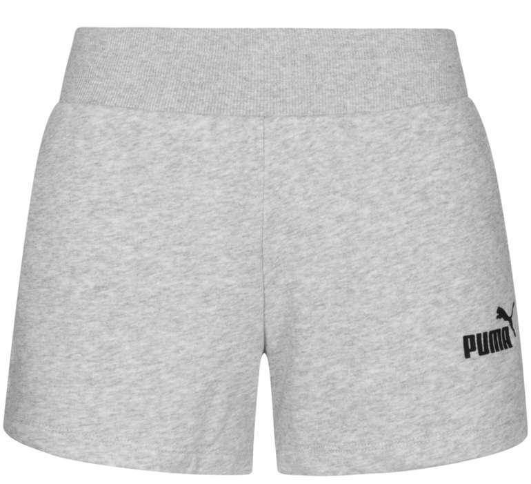 Puma Essentials Damen Trainingssweatshorts in Grau für 18,94€ inkl. Versand (statt 22€)