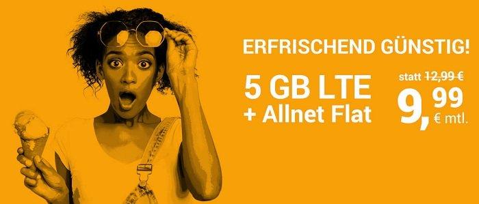 WinSIM o2 AllNet Flat mit 5GB LTE