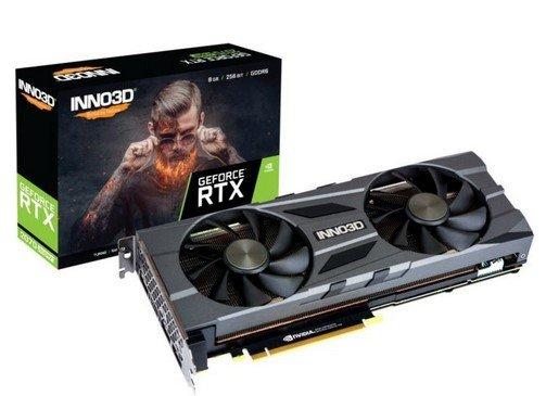 Inno3D GeForce RTX 2070 Super Twin X2 OC 8GB Grafikkarte für 440,33€ (statt 490€)