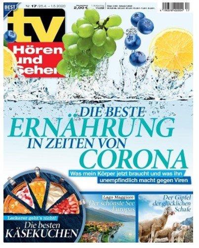 TV Hören und Sehen im Jahres-Abo (26 Ausgaben) für 60€ + z.B. 40€ Bestchoice Gutschein