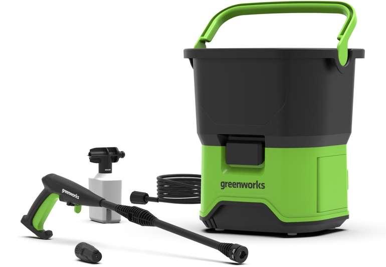 Greenworks Hochdruckreiniger GDC40 für 43,90€ inkl. Versand (statt 60€)