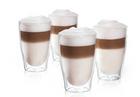 4er Set Tchibo Cafissimo Latte-Macchiato-Gläser (Doppelwandig) für 19,95€