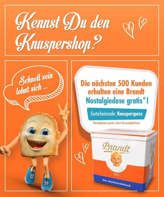 Brandt Markenzwieback 225g + Nostalgiedose für 1,21€ inkl. Versand
