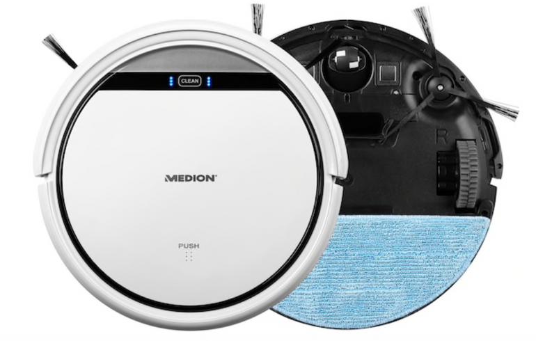 Medion MD 18501 Saugroboter mit Wischfunktion zu 139€ inkl. Versand (statt 174€)