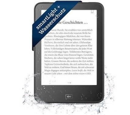 Tolino Vision 4 HD eBook Reader für 49,49€ inkl. Versand (statt 159€) - Retourengeräte!