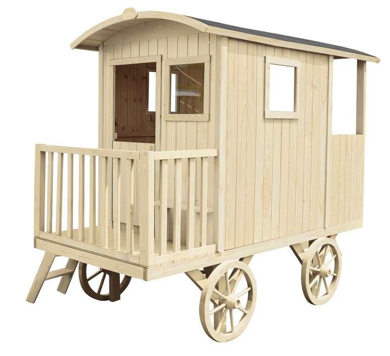 Carry Natur Stelzenhaus mit 4 Rädern (155 x 262 x 203 cm) für 493,79€inkl. Versand (statt 650€)