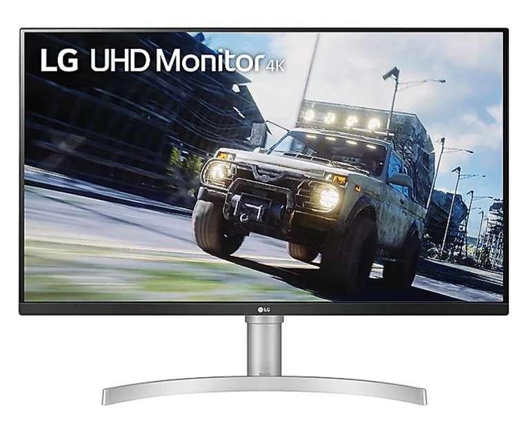 LG 32UN550-W 80cm mit 31,5 Zoll (4K UHD, 16:9 Monitor, 4ms) für 299€ inkl. Versand (statt 316€)