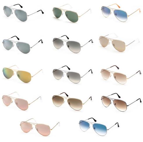 Verschiedene Ray Ban Aviator Sonnenbrillen für je 49,34€ inkl. Versand