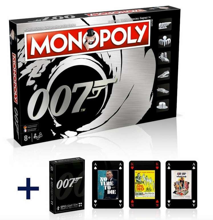 Monopoly James Bond 007 Deutsch Französisch Edition + Kartenset für 34,99€ (statt 45€)