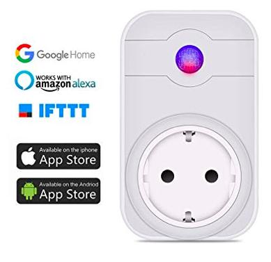 Leyuee - Intelligente Smart Steckdose mit WLAN & Alexa Support für 10,08€