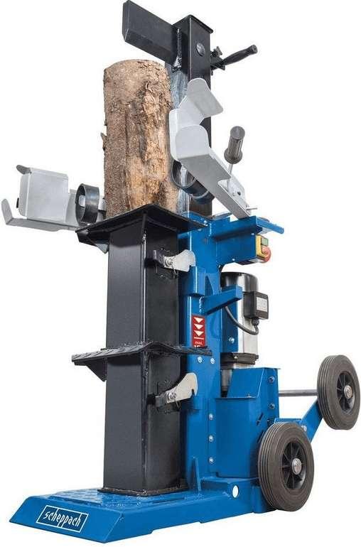 Scheppach Holzspalter HL1500TWIN (inkl. 2 Schwenktische + Verlängerungskeil) für 799,95€