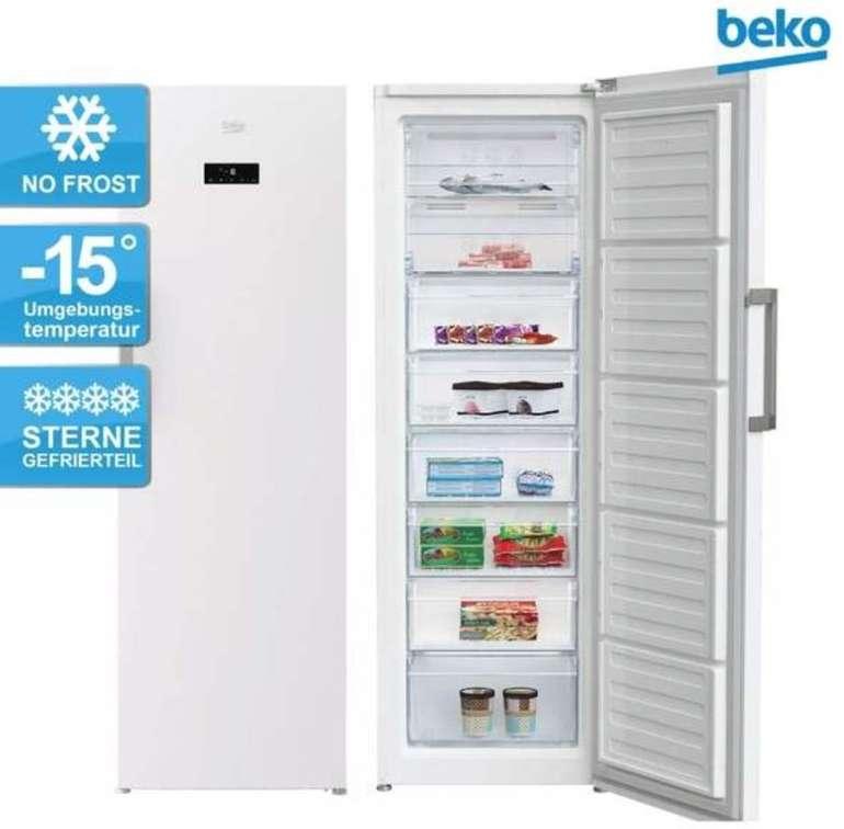 Beko RFNE312E43WN (282l) Gefrierschrank (NoFrost, Schnellgefrieren, A++ bzw. E) für 318,95€ inkl. Versand