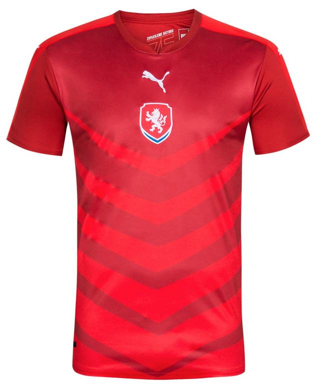 Tschechien Puma Herren Heim Trikot für 14,05€ inkl. Versand (statt 23€)