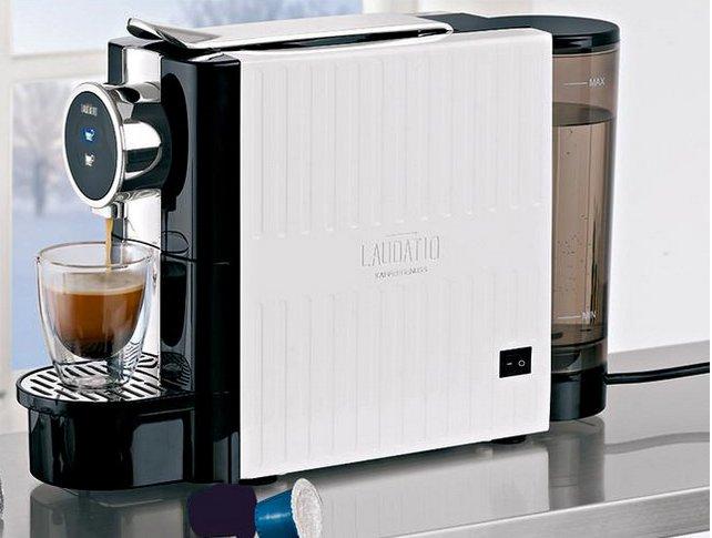Rossmann Ideenwelt Kaffee-Kapselmaschine (komp. mit Nespresso-Kapseln) für 25€