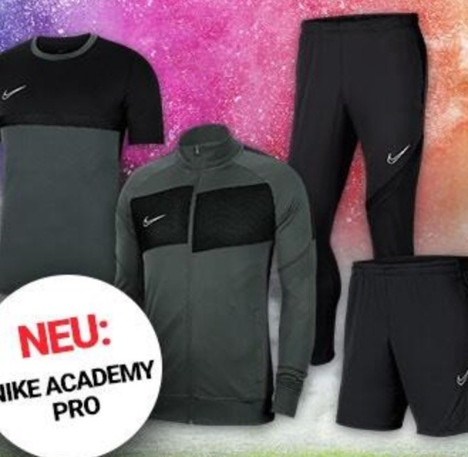 4-tlg. Nike Trainingsset Academy Pro für 69,95€ inkl. Versand (statt 89€)