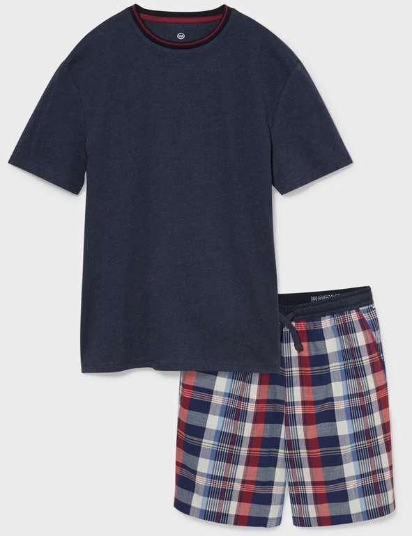 C&A Sale mit bis zu 50% Rabatt + 25% Extra ab 49€ + VSK-frei - z.B. Herren Pyjama in Blau ab 9,74€ (statt 20€)
