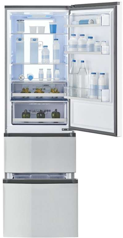 Haier A3FE735CMJ No Frost Kühl-Gefrierkombination mit 330 Litern für 579€